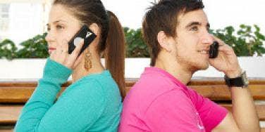phone couple