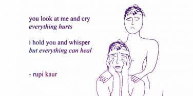 Rupi Kaur Poet Instagram Quotes Breakup Grief
