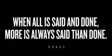 Drake Quotes Heartbreak