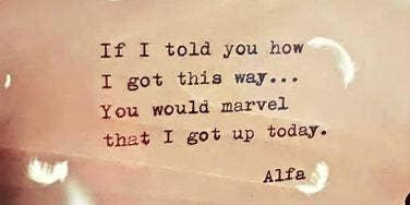 Inspirational Quotes Instagram Alfa Poet