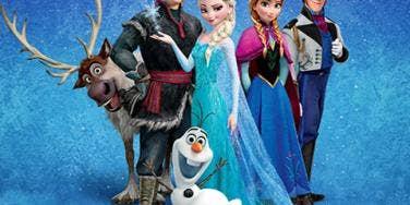 Disney Frozen, Anna, Elsa, Hans, Olaf, Kristoff, Sven
