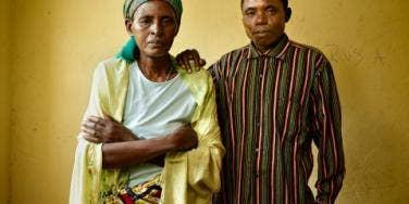 Laurent Nsabimana Beatrice Mukarwambari
