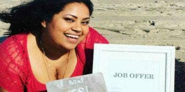 Celebrates Job Offer Like An Engagement photos