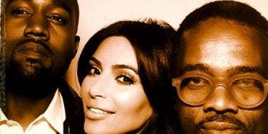 Kanye West Kim Kardashian wedding