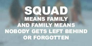 Squad Goals Friendship Quotes