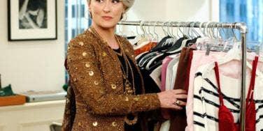 Meryl Streep As Miranda Priestly In 'The Devil Wears Prada'