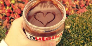 nutella heart