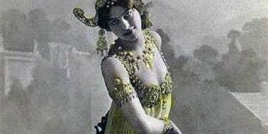 Mata Hari seductress