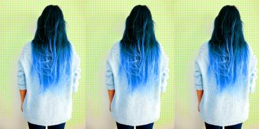 The Split-Dye Hair Trend