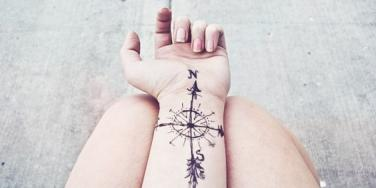 Travel Wrist Tattoo For Wanderlusters