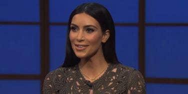 Kim Kardashian from Late Night With Seth Meyers
