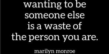 marilyn monroe self esteem quote