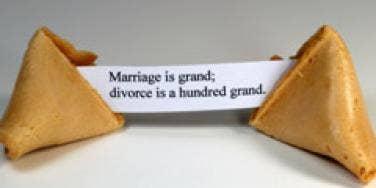 divorce fortune cookie