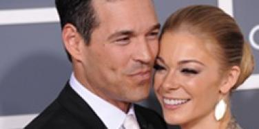 LeAnn Rimes and Eddie Cibrian at the Grammys.