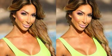 Before/After Photos Of What Farrah Abraham's Boobs Really Look Like After Three Boob Jobs