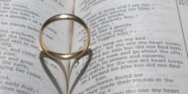 marriage wedding ring bible