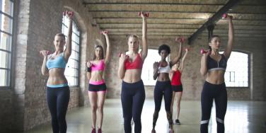 Blink Fitness Covers Mirrors Serves Pizza To SAVE Body Image