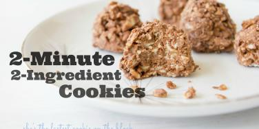 2 ingredients cookies