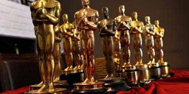 2014 Oscars Academy Awards Statues