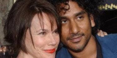 Barbara Hershey and Naveen Andrews split