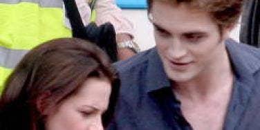 Robert Pattinson Kristen Stewart New Moon