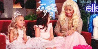Sophia Grace Brownlee & Rosie McClelland YouTube Stars With Nicki Minaj & Ellen Degeneres On Ellen Show