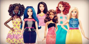 barbie's new look