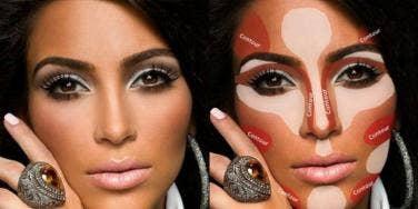 makeup contouring baking