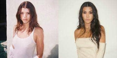 Sofia Richi Morphing Into Kourtney Kardashian Because of Scott Disick