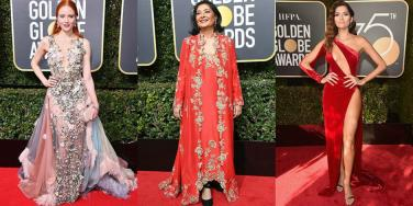 These Are The Only Three Women Who Didn't Wear Black At The Golden Globes