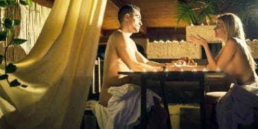 nude dining