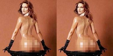 Caitlyn Jenner Nude and Naked for Sports Illustrated