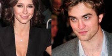 Robert Pattinson and Jennifer Love Hewitt