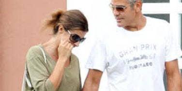George Clooney Elisabetta Canalis