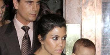 Kourtney Kardashian Scott Disick Mason Disick