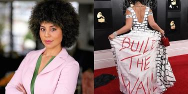 Who Is Joy Villa? New Details About The Singer Who Wore A 'Build The Wall' Dress To The Grammys