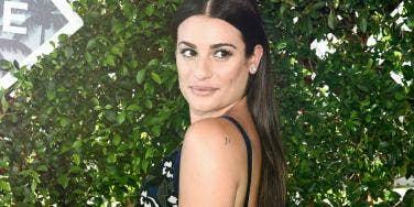 Lea Michele Waxing SnapChat