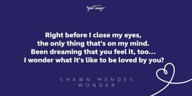 Shawn mendes love songs