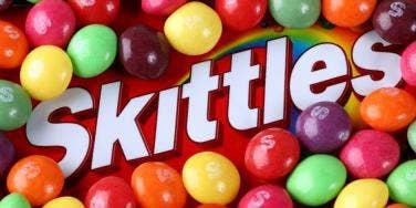 Skittles candy taste same