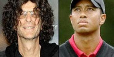 Howard Stern, Tiger Woods