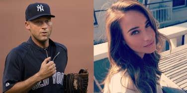 Derek Jeter and Hannah Davis