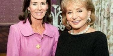 Jenny Sanford and Barbara Walters