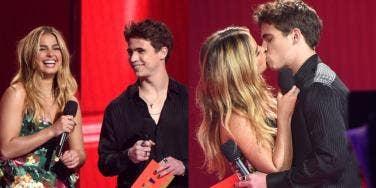 Addison Rae And Tanner Buchanan Kiss
