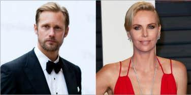Charlize Theron and Alexander Skarsgård