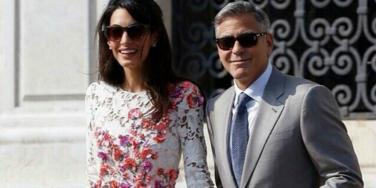 George Clooney's & wife Amal Alamuddin