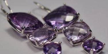 gemvara amethyst earrings yourtango