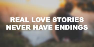 Best Happy Anniversary Love Quotes: Real love stories never have endings