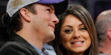 Ashton Kutcher and Mila Kunis