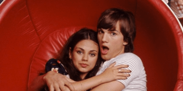 Ashton Kutcher and Mila Kunis in That 70s Show