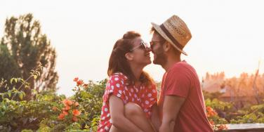 couple using law of attraction for love